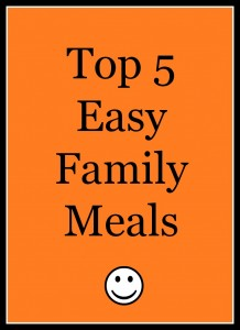 top 5 easy family meals