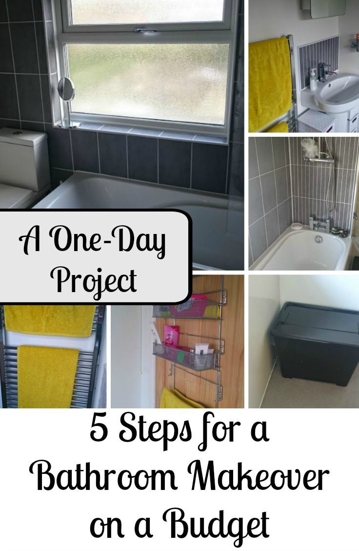 5 Steps for a Bathroom Makeover on a Budget