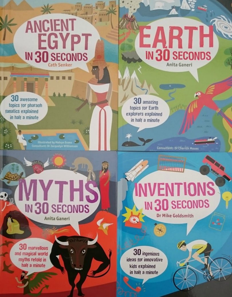 30 seconds books