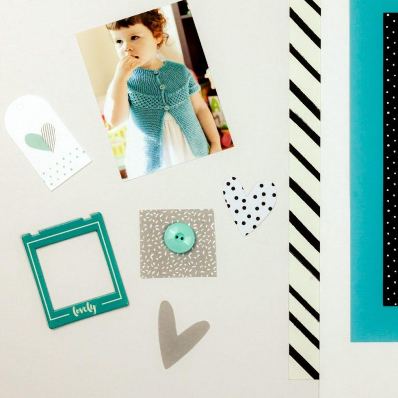 5 Steps to Creating Your First Scrapbook Layout: A beginner's guide to scrapbooking