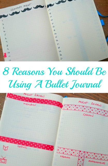 8 Reasons You Should Be Using a Bullet Journal